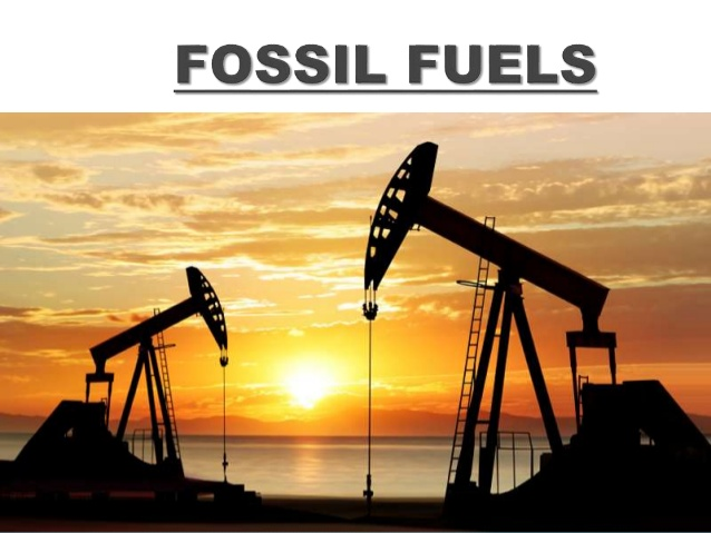 The Bars of Fossil Fuel Consumption is Still High